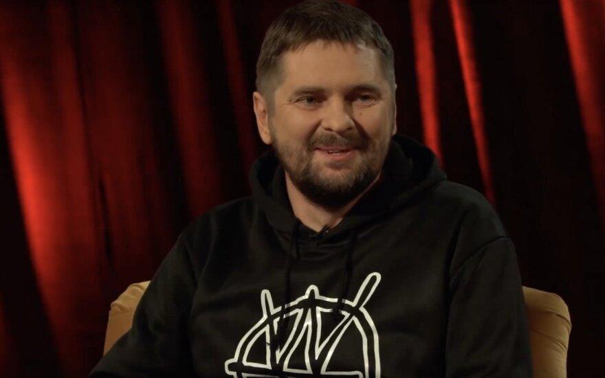 Kastytis Sarnickas-Kastetas /Foto: Laisvės TV