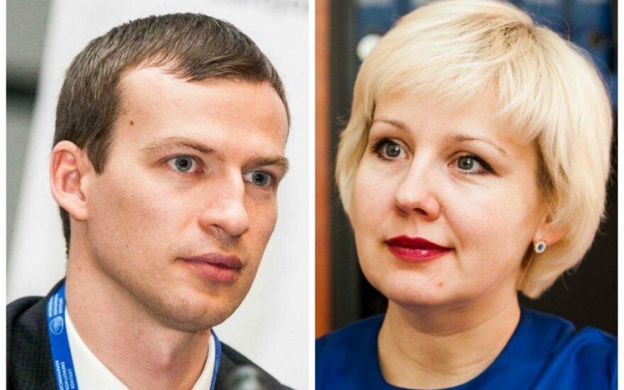 Egidijus Purlys ir Diana Korsakaitė
