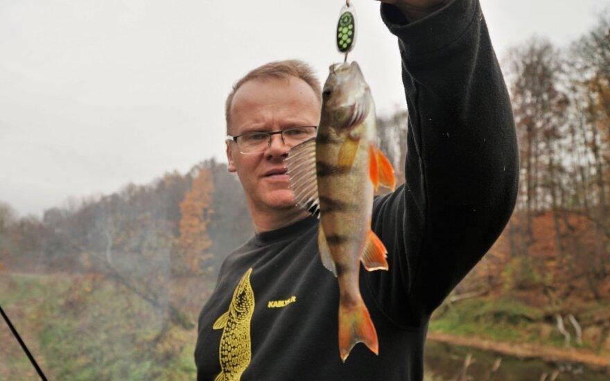 Rudeninė žvejyba Šešupėje