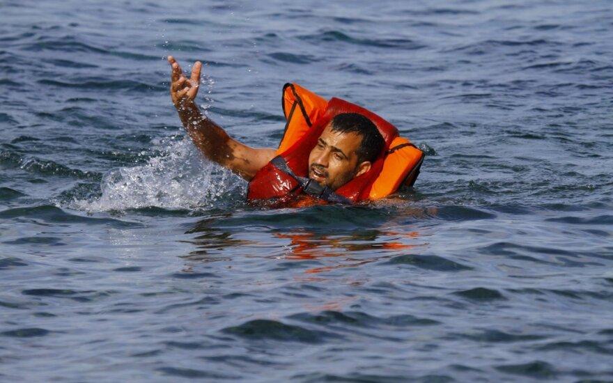 Nerimas Viduržemio jūroje: katastrofiška migrantų krizė priklauso nuo vienintelio sprendimo