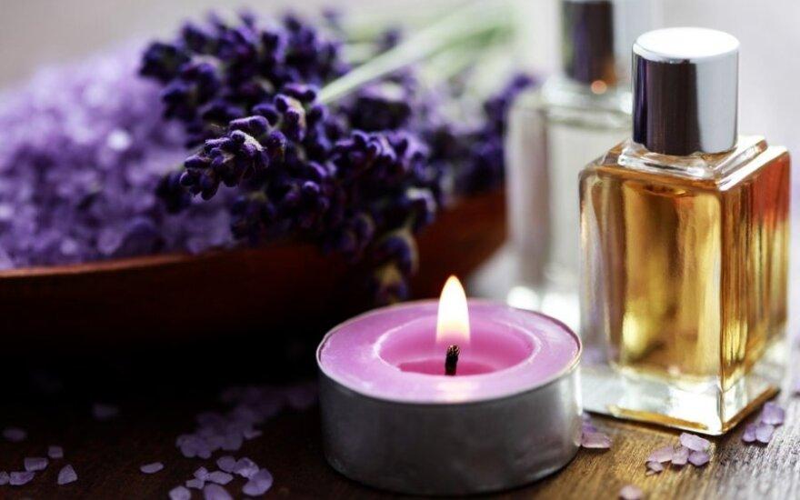 Be reikalo pamiršta kvapų terapija: ne tik gydo, bet ir degina kalorijas