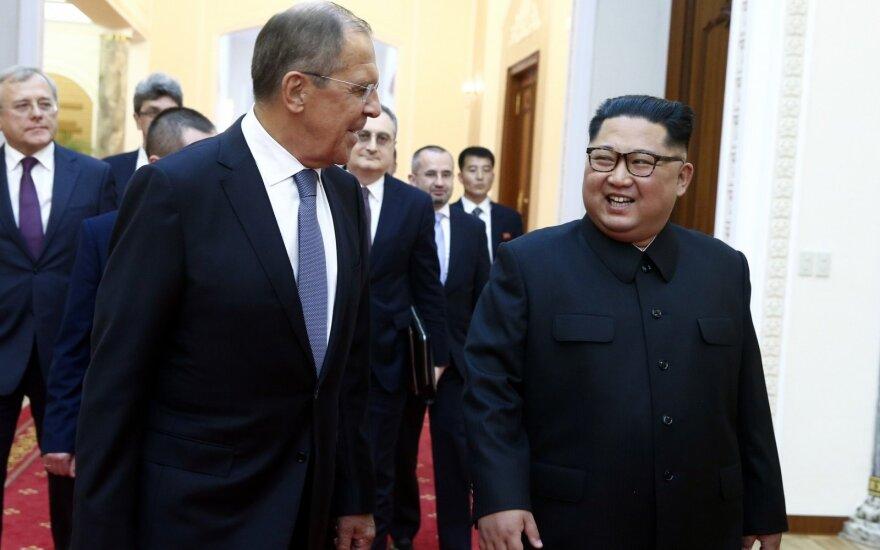 Sergejus Lavrovas, Kim Jong Unas