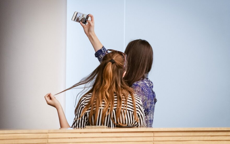 Selfie in the Seimas