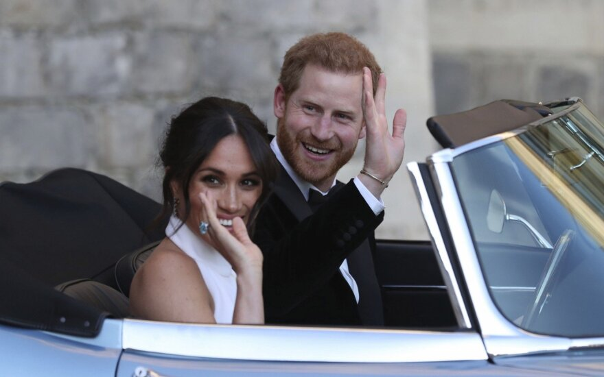 Princas Harry ir Meghan Markle išvyksta iš Vindzoro pilies