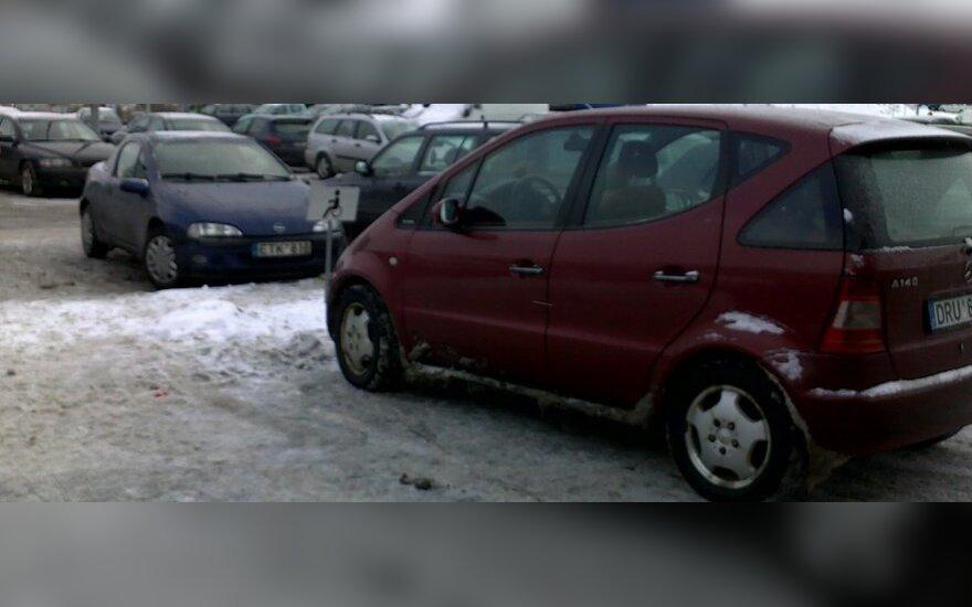 Vilniuje, prie PC BIG. 2011-01-27, 12.34 val.