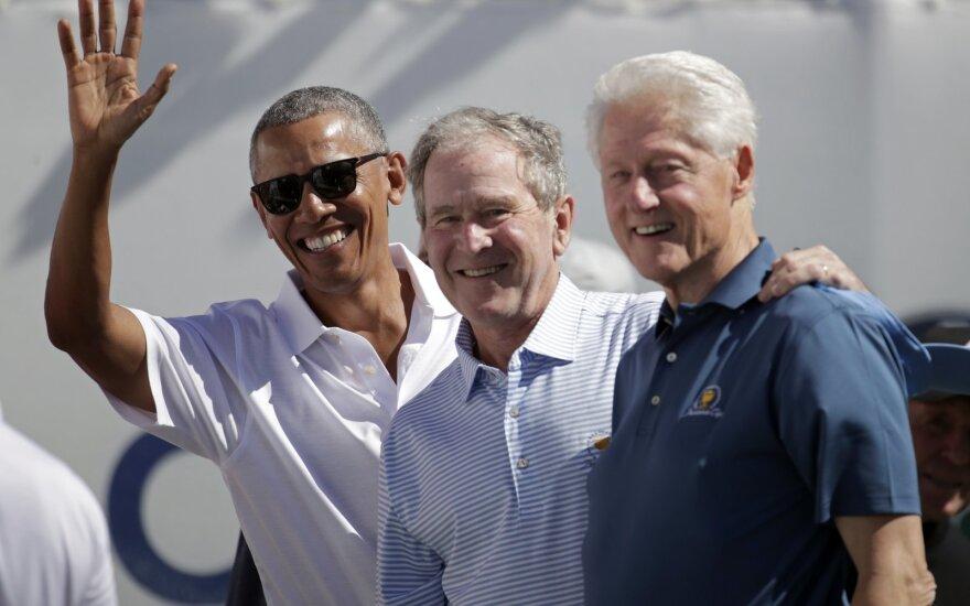 Barackas Obama, George'as Bushas, Billas Clintonas