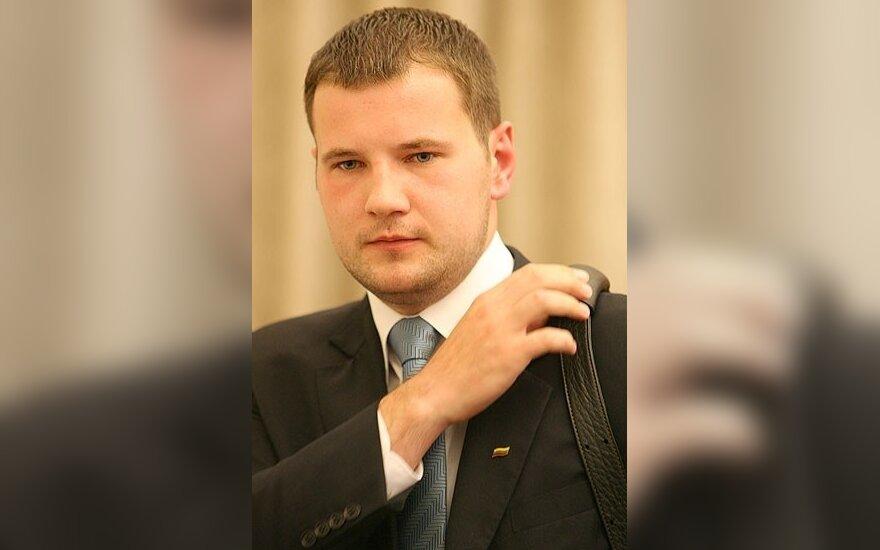 Premjerui patarinės buvęs Studentų sąjungos prezidentas J.Okunis