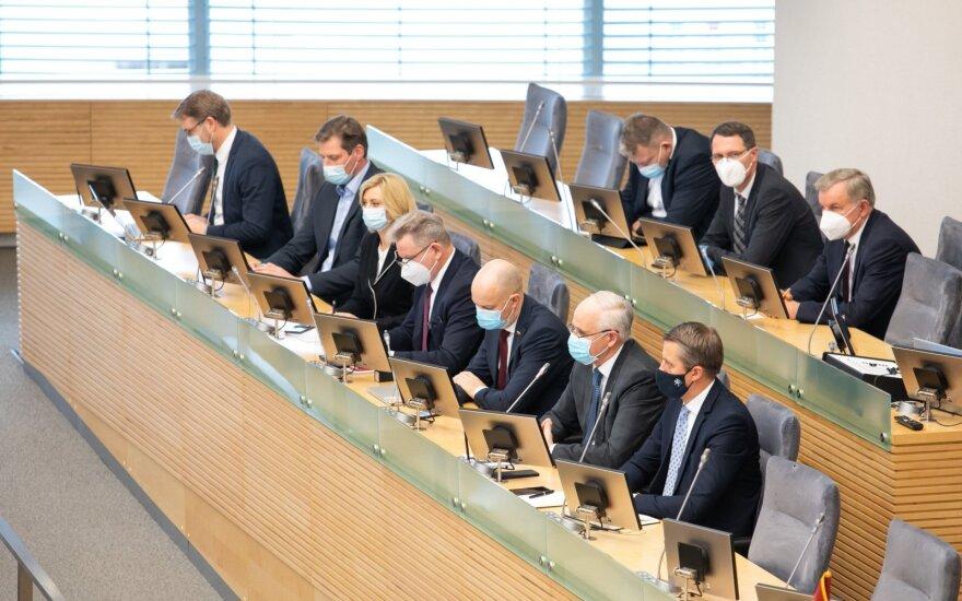 Investuotojai: bendras nueinančios Vyriausybės vertinimas – 4,8 dešimtbalėje sistemoje