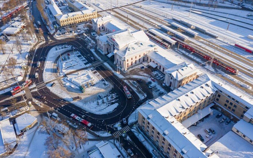 Vilniaus geležinkelio stoties infrastruktūra