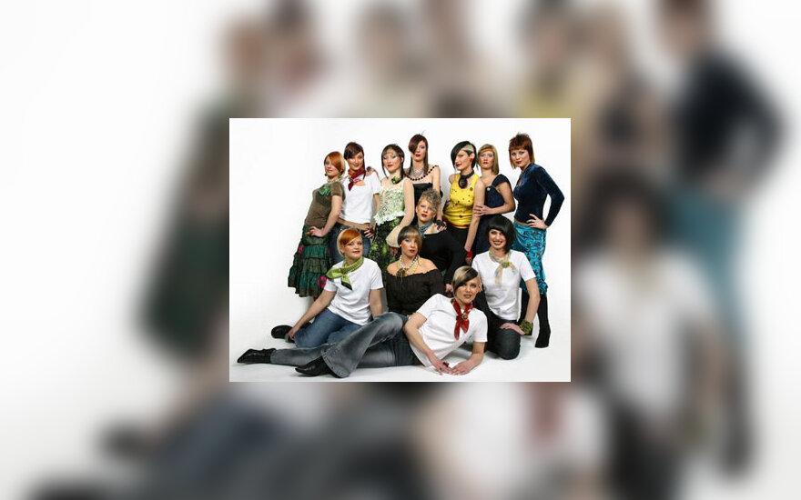 """Šukuosenos 2005 m. Salonas """"Jos kaprizai"""""""