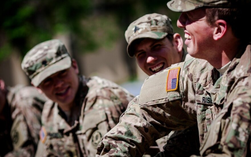 Around 80 American soldiers to come to Lithuania
