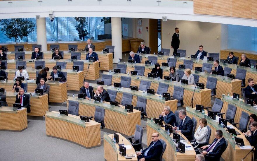 Parlamentarai neapsisprendžia dėl draudimo savivaldybių įmonėms teikti labdarą