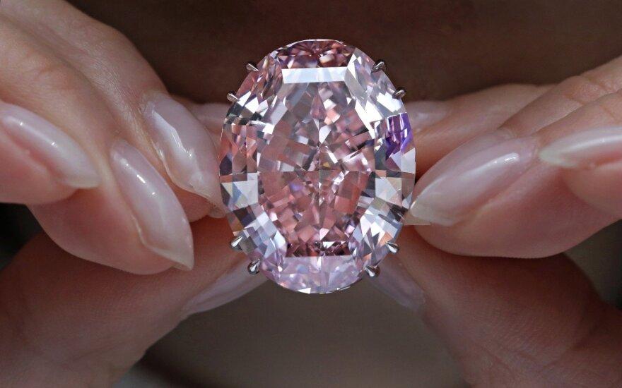 Deimantas Pink Star