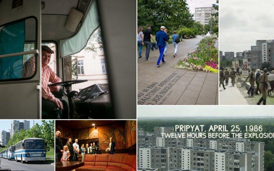"""Kadrai iš serialo """"Černobylis"""" ir ekskursija"""