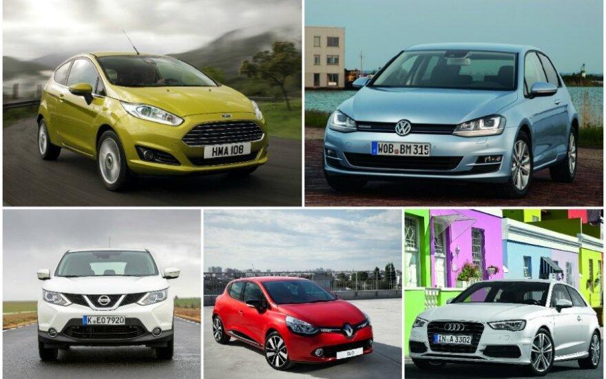 Populiariausi Europos modeliai 2014 m.