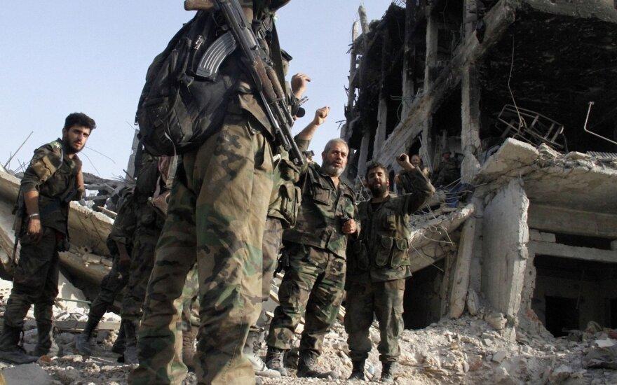 Sirijos režimas perėmė svarbaus pasienio su Jordanija posto kontrolę