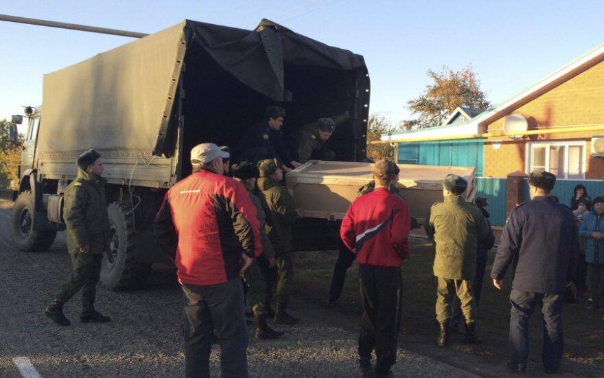 """""""Novaya Gazeta"""": tėvams grąžintas Rusijos kario kūnas – itin blogos būklės"""