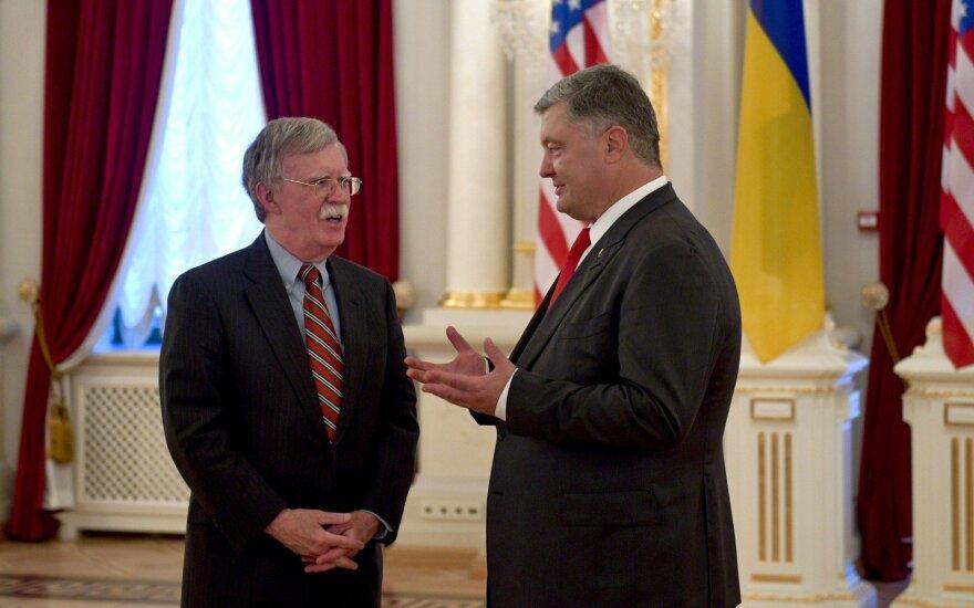 JAV pažada padėti Ukrainai atremti Rusijos kišimąsi per rinkimus