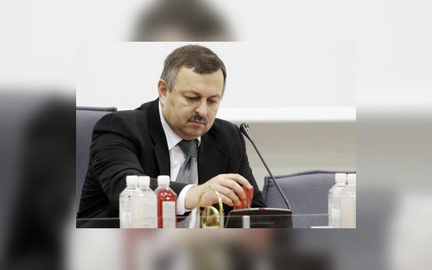 Vilniaus meras V.Navickas neskuba trauktis