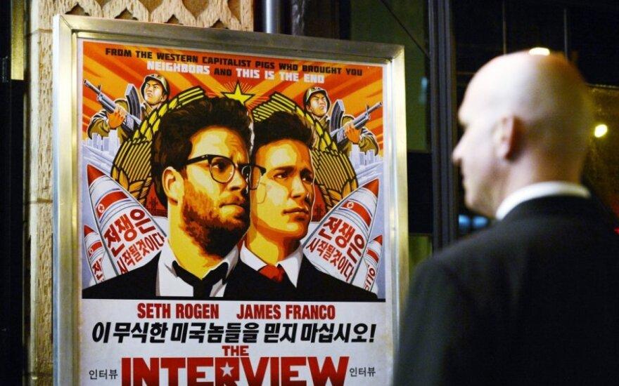 Šiaurės Korėją užrūstinusi komedija jau uždirbo milijoną