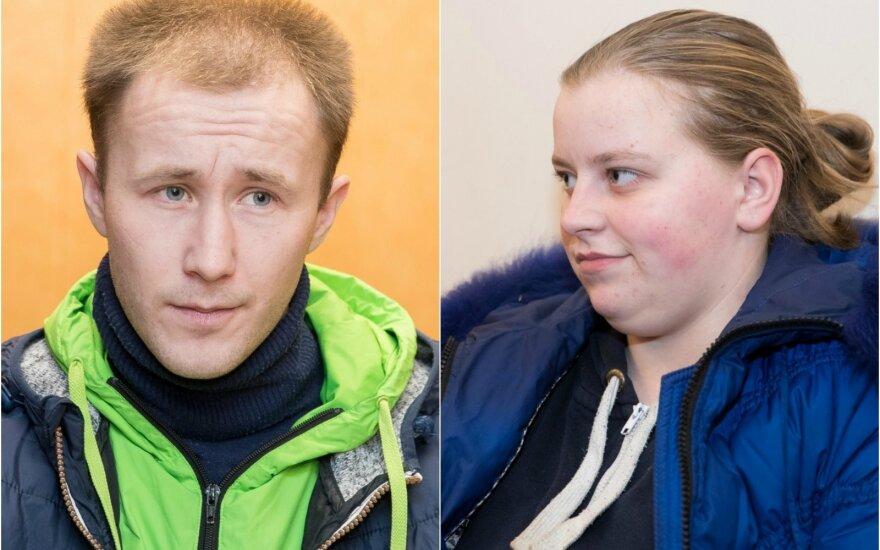 Edvardas Subočius ir Ivona Skorulskaja