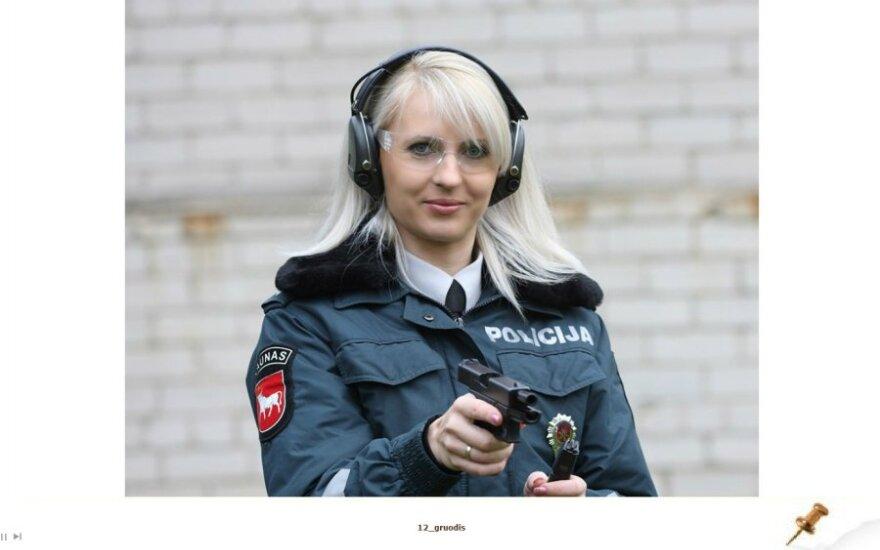 Kauno policijos  2013 metų kalendorius
