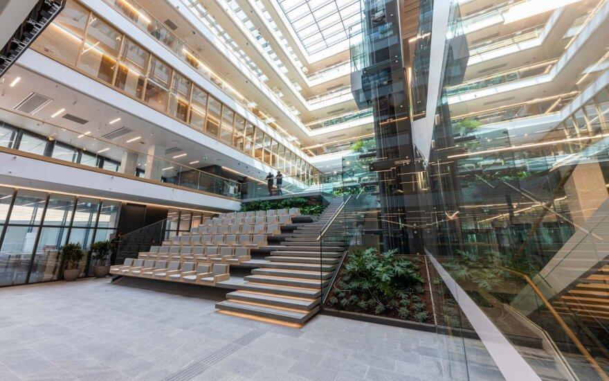 Naujoji SEB banko būstinė