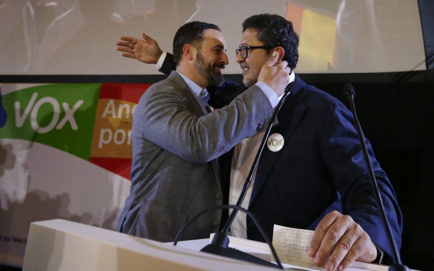 Ispanijoje pirmąkart po Franco kraštutiniai dešinieji laimėjo vietų regiono parlamente