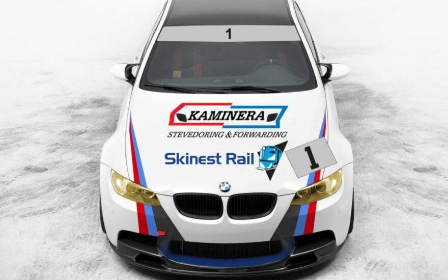 Skinest Rail–Kaminera komandos BMW M3 automobilis
