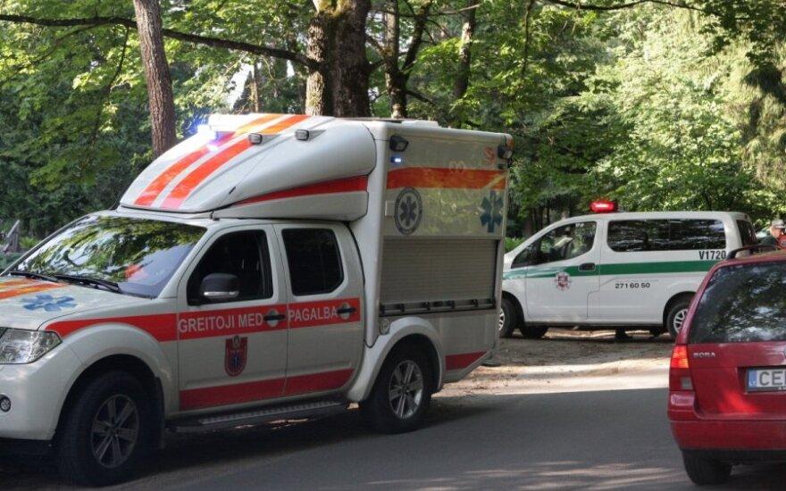 Per 10 min. Vilniuje ir Trakų r. eismo įvykiuose sužaloti trys žmonės