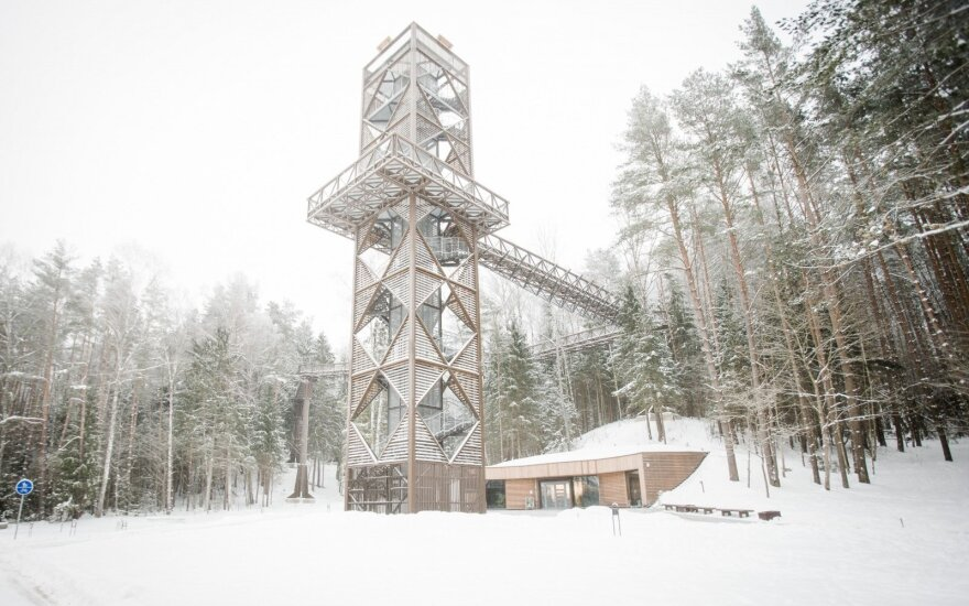 Įspūdingi apžvalgos bokštai, kuriuos verta aplankyti ir žiemą