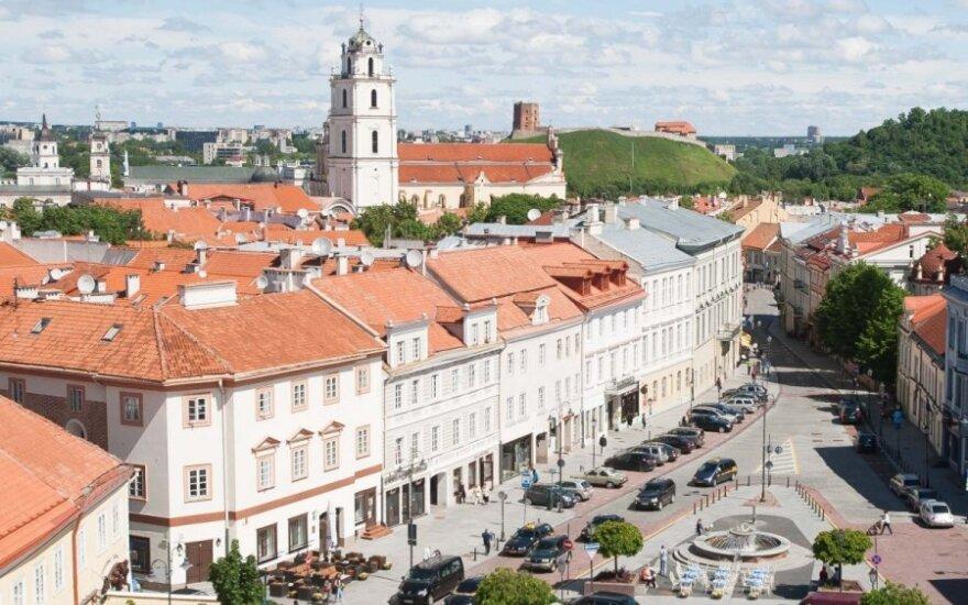 Savaitgalio rytais – šokiruojantys Vilniaus senamiesčio vaizdai