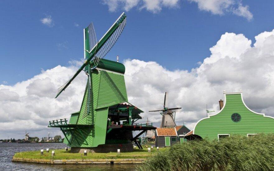 Princo Friso atminimui trumpam sustabdyti Nyderlandų vėjo malūnai