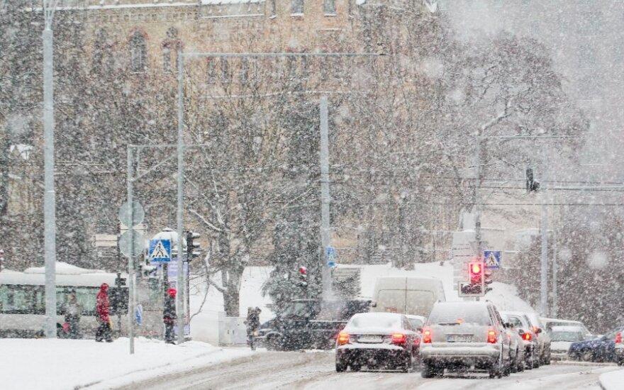Eismo ir oro sąlygos Lietuvoje - permainingos