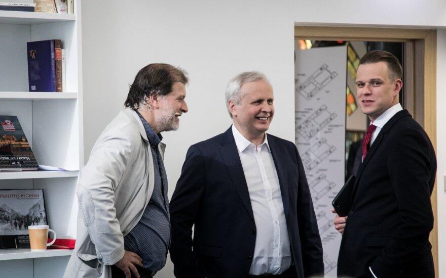 Darius Kuolys, Albinas Januška, Gabrielius Landsbergis