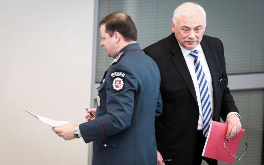 Saulius Skvernelis ir Dailis Alfonsas Barakauskas