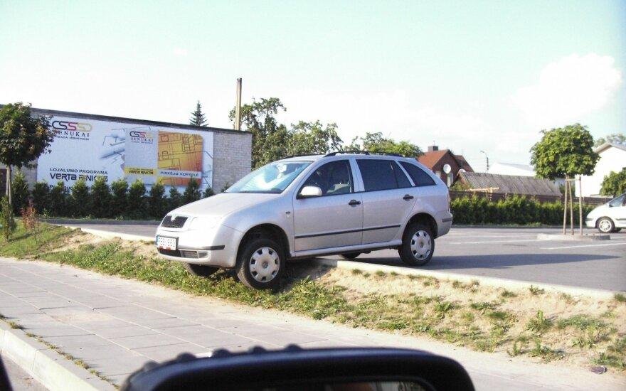 Nesėkmingų dienų pasitaiko ir Lietuvos vairuotojams