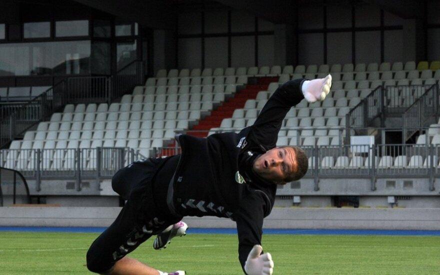 Lenkijos futbolo pirmenybėse E. Zubas praleido net šešis įvarčius