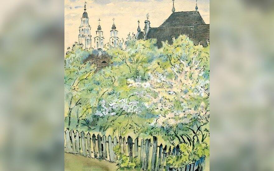 Dobužinskis. Kaunas. Pavasaris. 1923