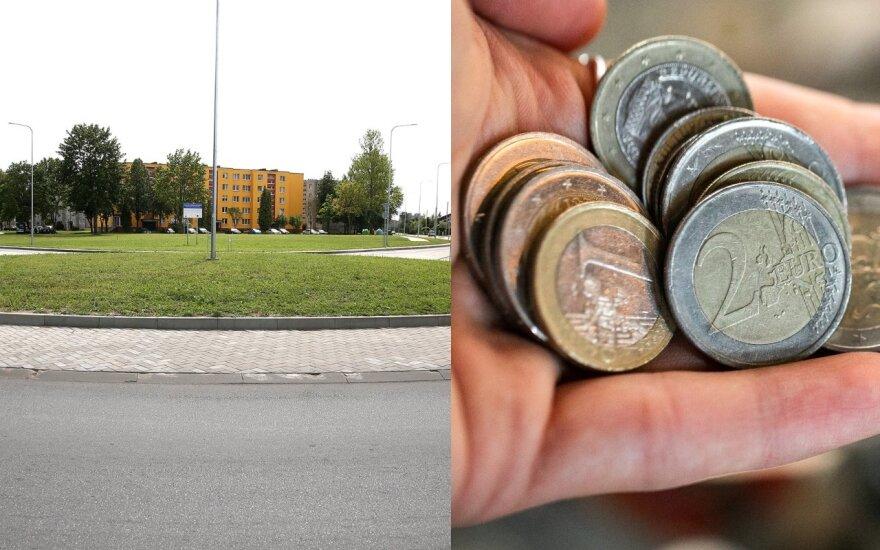 Kėdainių A. Kanapinsko gatvės rekonstrukcija (DELFI fotomontažas)