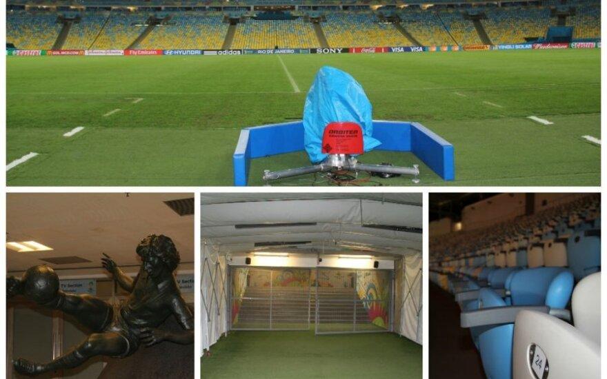 "Ekskursija po ""Maracana"" stadioną"