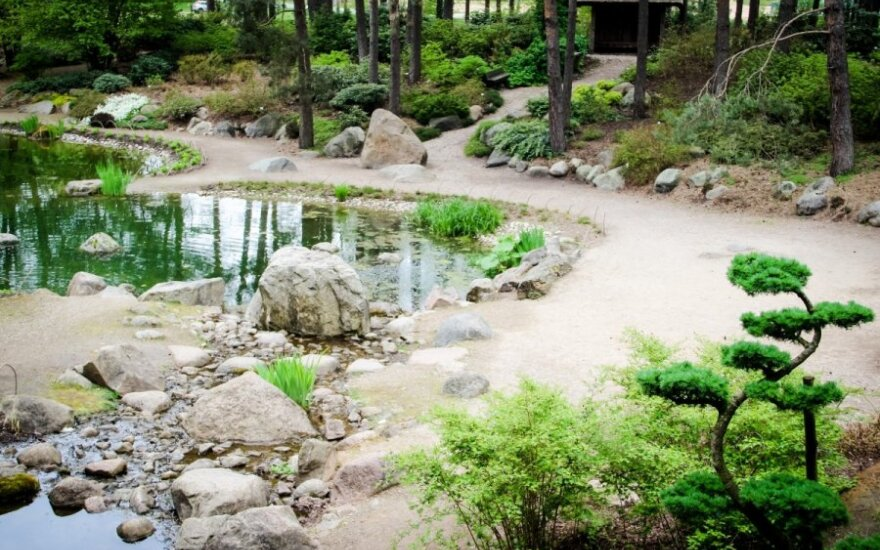 Japoniškas sodas VU botanikos sode