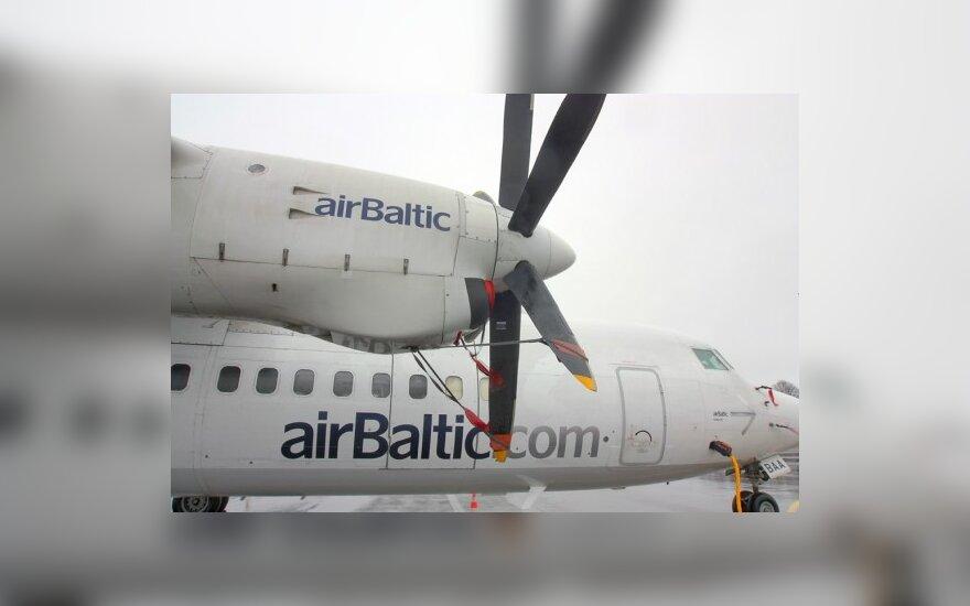 """""""airBaltic"""" Latvijoje uždaro regioninius biurus"""