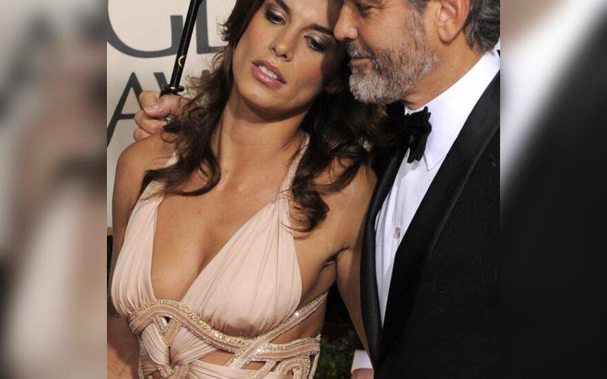 George Clooney ir Elisabetta Canalis