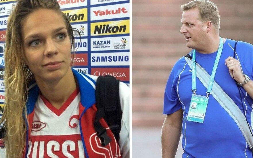 BBC svetainėje – žodžių karas: J. Jefimova prieš R. Meilutytės trenerį