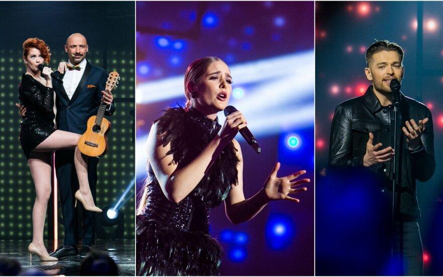 """Antrojo """"Eurovizijos"""" pusfinalio dalyviai"""