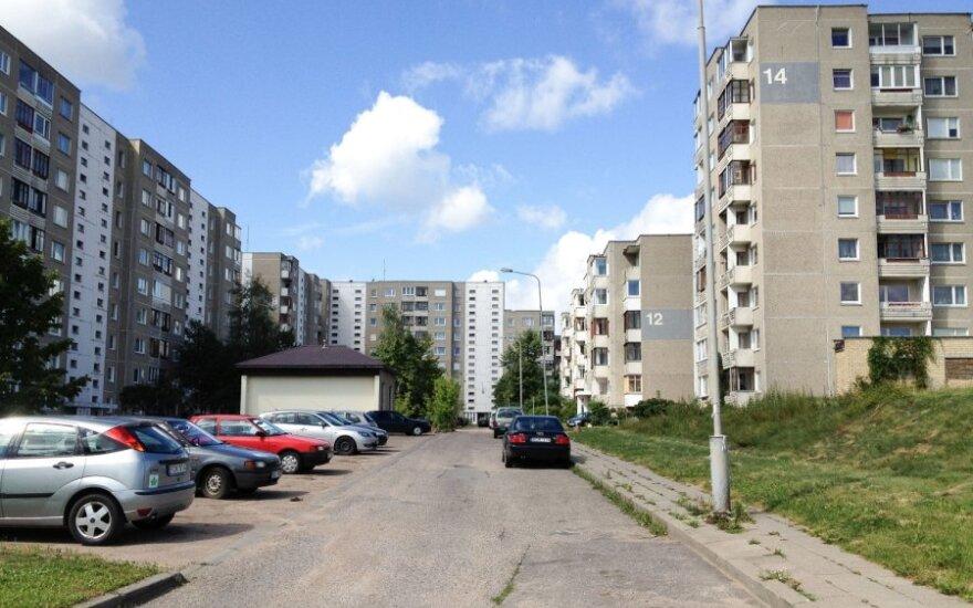 D120V serijos stambiaplokščiai namai Fabijoniškėse