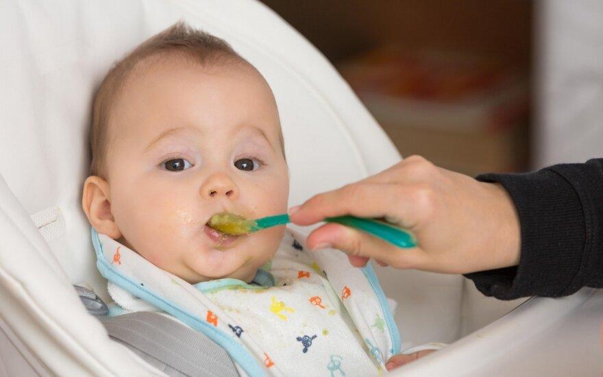 Ko Lietuvoje apie vaikų mitybą nežino absoliuti tėvų dauguma