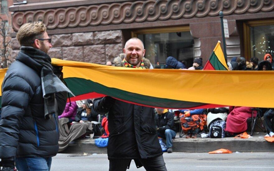 Lietuviai didžiausiame Čikagos miesto renginyje /Foto:  Sandra Sčedrina