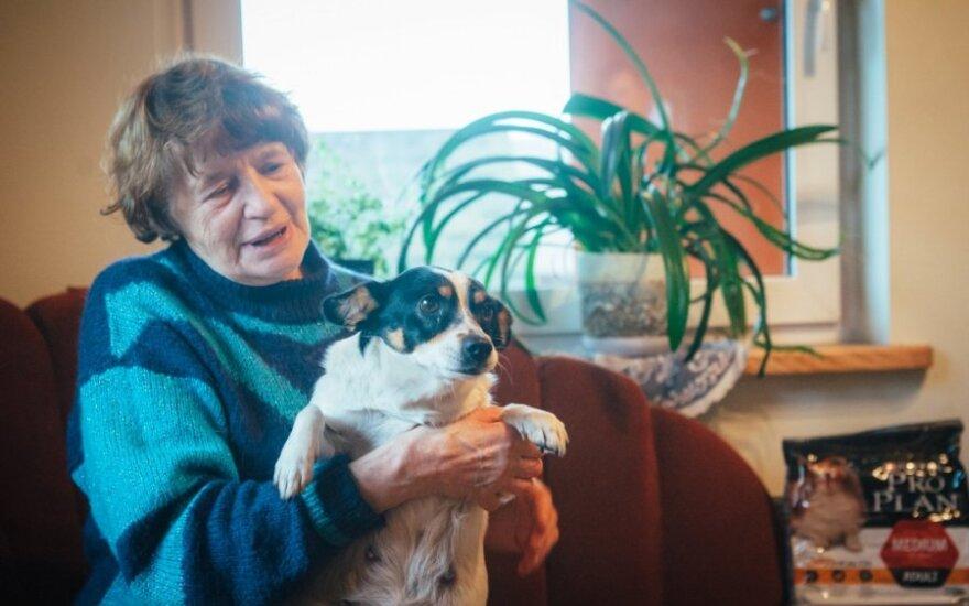 Močiutės Zitos namuose vietos vienatvei nepalieka mylimi augintiniai